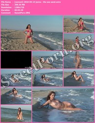 Zemani.com [zemani] 2010-04-14 janne - the sea sand Thumbnail